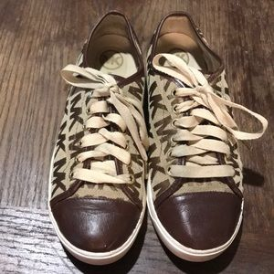 Michael Kors Brown and tan Lace Up Shoe